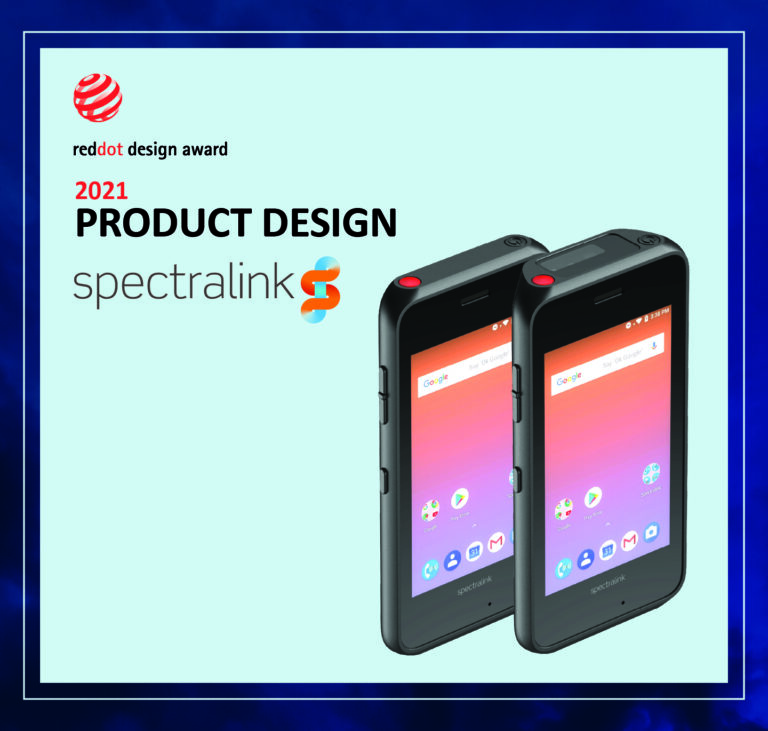 Spectralink's Versity 92 Wi-Fi smartphones win two Red Dot awards for high design quality