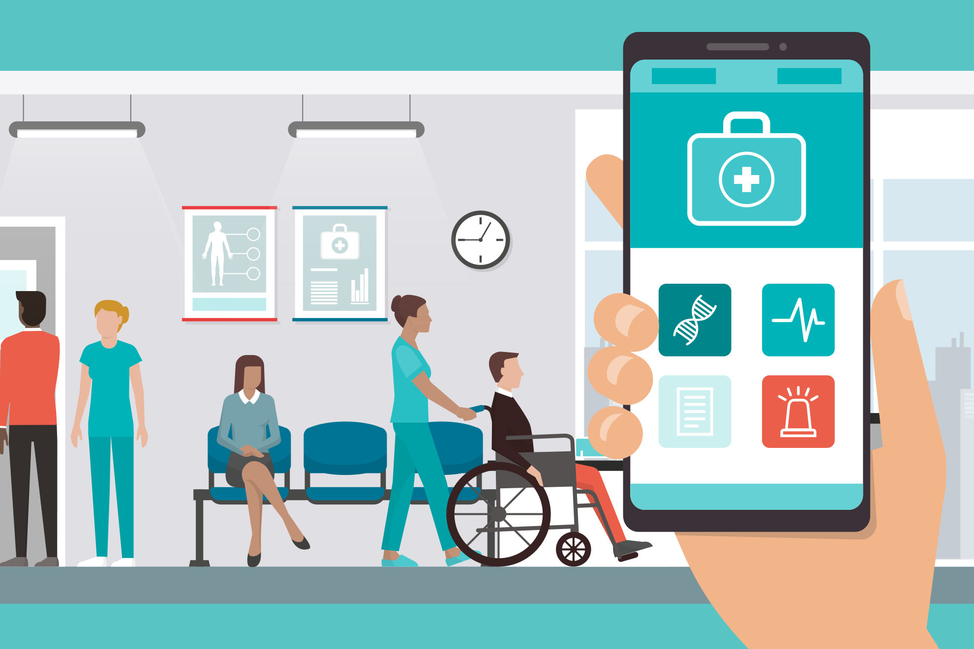 Olinqua releases hospital mobile communication application available through Wavelink